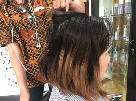 cat rambut  amonia  salon devasre female daily