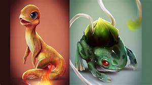 if pokemon were real images