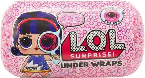 lol surprise series   wraps wave  knick knack toy