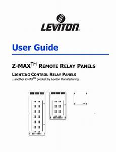 Pdf Manual For Leviton Other Z