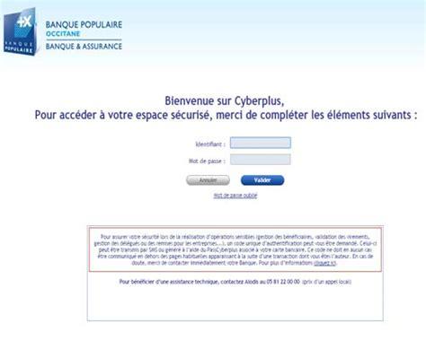 assurance auto banque populaire g 233 rer compte cyberplus occitane facilement