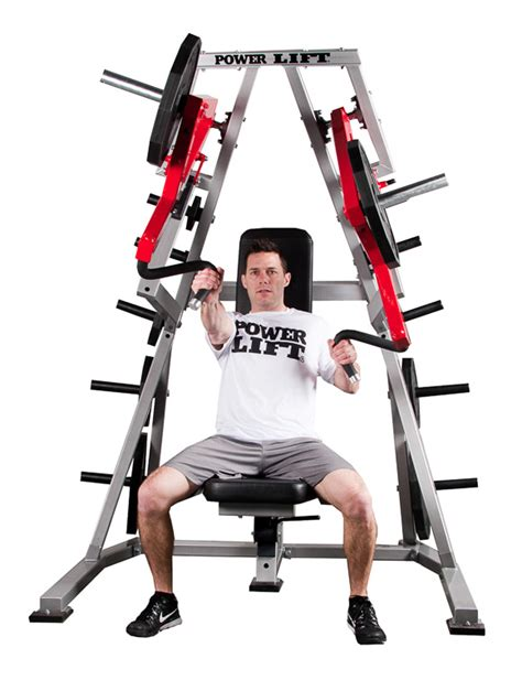 seated chest press power lift