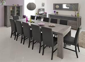 Table Salle A Manger Grise Table De Salon Noir Et Blanc