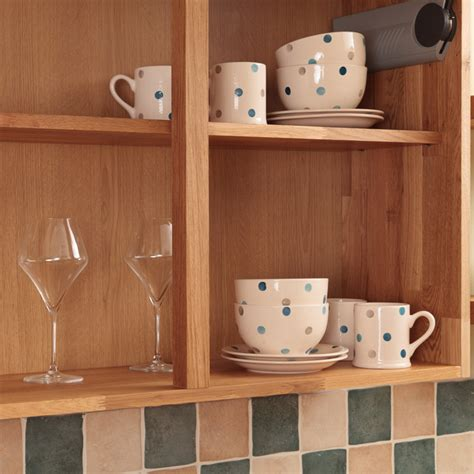 wooden kitchen wall units display cabinets solid wood