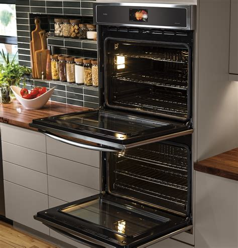 ptslss ge profile  built  double convection wall oven stainless steel