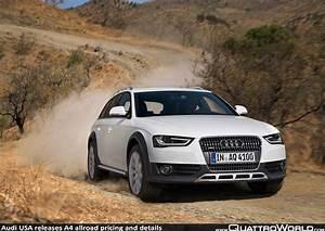 Audi A4 Allroad 2010 : audi usa releases a4 allroad pricing and details quattroworld ~ Medecine-chirurgie-esthetiques.com Avis de Voitures