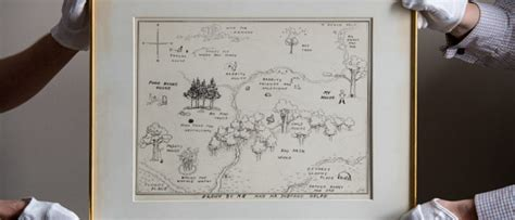 Famous Winnie-the-pooh Sketch Up For Auction