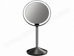 Miroir Grossissant X10 : simplehuman st3004 miroir a capteur grossissant x10 pas ~ Carolinahurricanesstore.com Idées de Décoration
