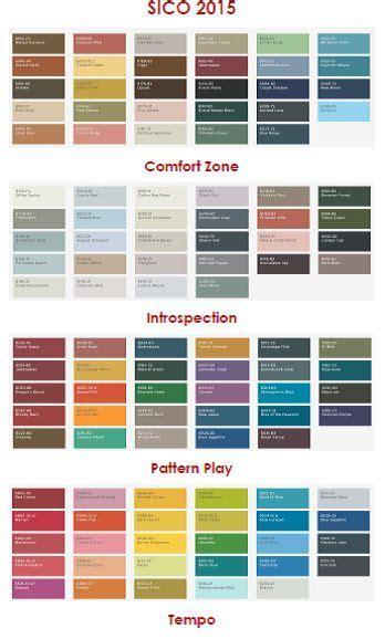 sico s 2015 colour palettes meccintereiors design