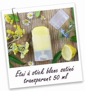 Sac À Main Transparent : etui stick 50 ml blanc satin transparent aroma zone ~ Melissatoandfro.com Idées de Décoration
