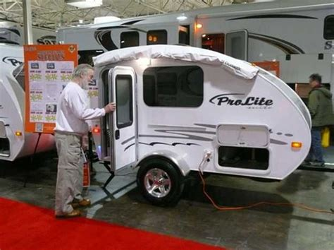 small travel trailers  toronto rv show offering