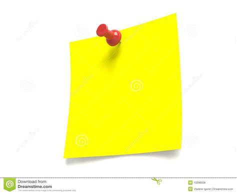 punaise bureau notez la punaise de papier de bureau photos libres de