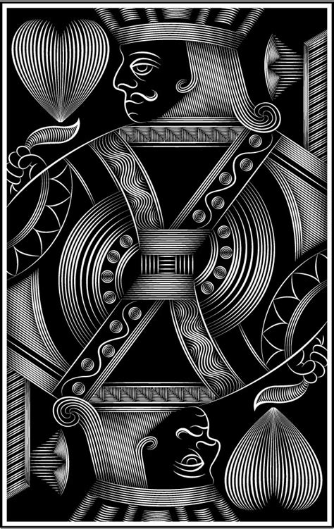 behance playing cards  patrick seymour playing cards