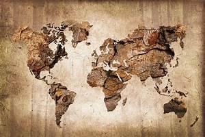 Tableau Du Monde : tableau zen mappemonde bois par delphimages my ~ Teatrodelosmanantiales.com Idées de Décoration
