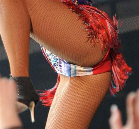 Rihannas Nipple Rings Crotch Cameltoe See Through