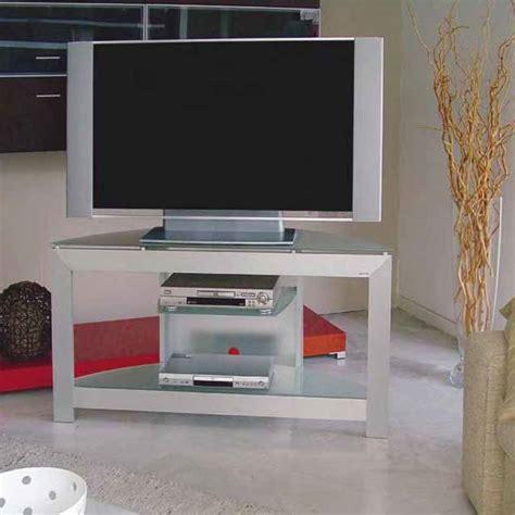 mobili per televisione mobiletto per televisione in alluminio e cristallo