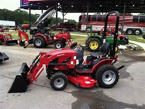 Mahindra Emax 25s Hst 4wd  24hp  Loader Belly Mower