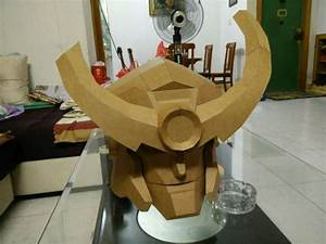 Wearable Gurren Lagann Helmet for Cosplay Free Papercraft ...