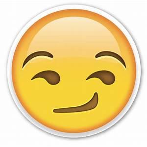 Pics For > Smirk Emoji