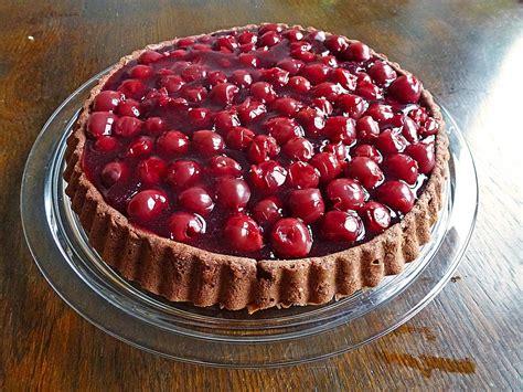 Kuchen Mit Kastenform Und Kirschen Leichter Biskuit Kuchen Mit Kirschen Stanibär