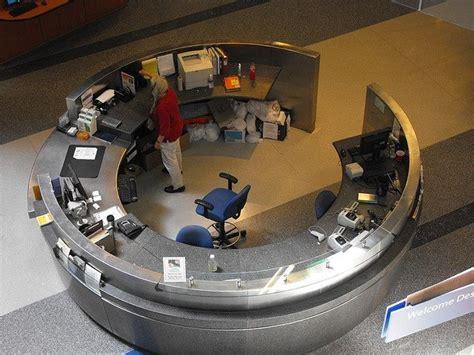circular reception desk lobby circular reception desk home office
