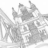 Coloring Architecture Bridge Tower Pages Drawing Stunning Coloriage Shines Global London Getcolorings Printable Getdrawings sketch template