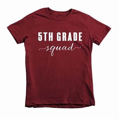 Shirt Grade Shirts 5th Squad Tee Teacher