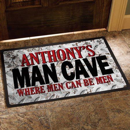Cave Doormat by Personalized Cave Doormat Available In 2 Sizes