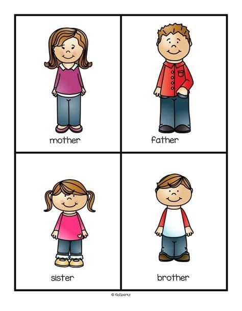 Famiiies Theme Activities And Printables For Preschool And Kindergarten Kidsparkz