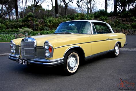 Mercedes Benz 300se Coupe 4 Speed 1967 Australian