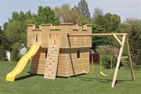 Building Wooden Swing Set Frame