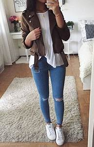 Best 25+ Brown jacket outfit ideas on Pinterest