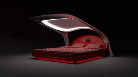 futuristic bed concept  hlupekkk  deviantart