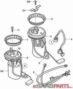 30587077  Saab Fuel Pump  1998-2005 9-5