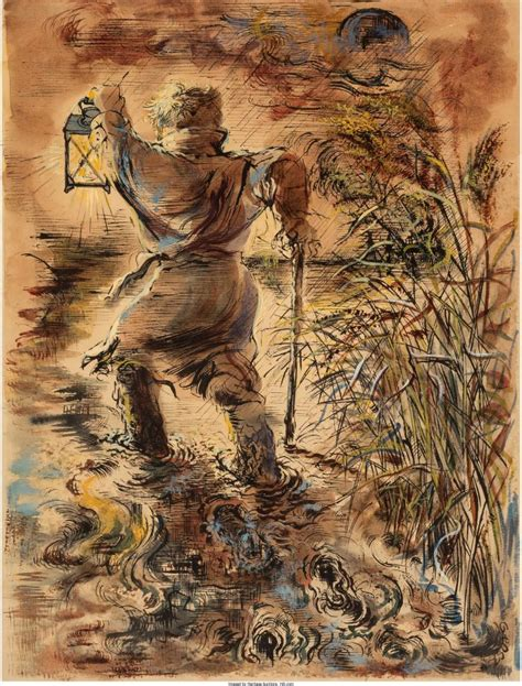 Sold Price: GEORGE GROSZ (1893-1959) THE WANDERER, 1936 ...