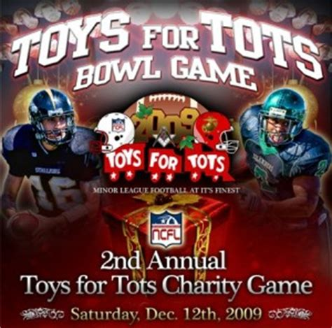 Toys for Tots Football Bowl Game | Daly City