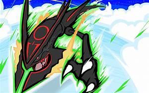 Shiny Mega Rayquaza | Dragon Ascent by ishmam on DeviantArt