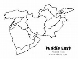 HD wallpapers coloring page map of middle east i3dwallfdesktopcf