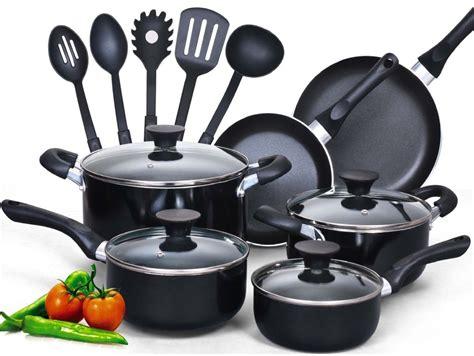 cookware cook piece pans pots nonstick