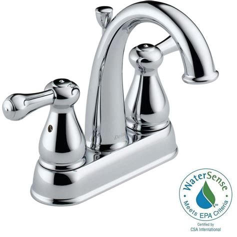Delta Leland Kitchen Faucet Chrome by Delta Leland 4 In 2 Handle High Arc Bathroom Faucet In