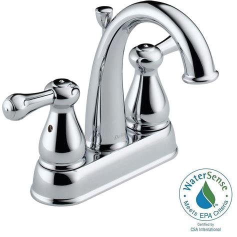 Delta Leland Garden Tub Faucet by Delta Leland 4 In 2 Handle High Arc Bathroom Faucet In