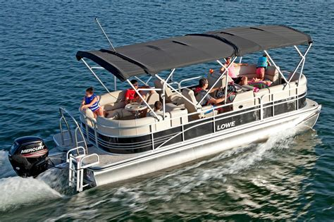 Lowe Boats Mi by 2016 New Lowe Ss230 Walk Thru Pontoon Boat For Sale