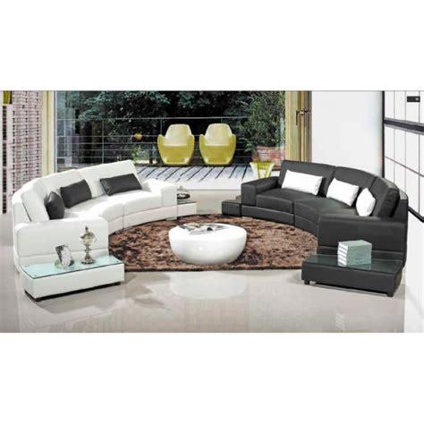 canapé d angle rond canape design arrondi