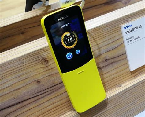 Nokia's 8110 4G 'Banana Phone' is finally available to ...