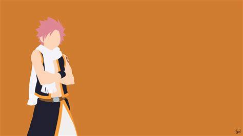 My Hero Academia Wallpaper Phone Natsu Dragneel Fairy Tail Minimalistic Wallpaper By Greenmapple17 Daily Anime Art