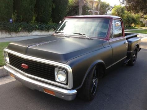 buy used awesome custom c10 pick up v8 hot rod muscle car