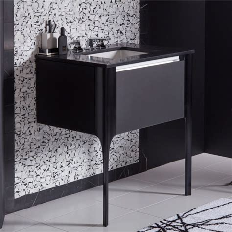 Robern Bathroom Vanities by Balletto Collection 15 H Single Drawer Bathroom Vanity