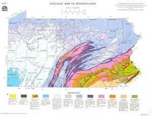 Pennsylvania Geological Map