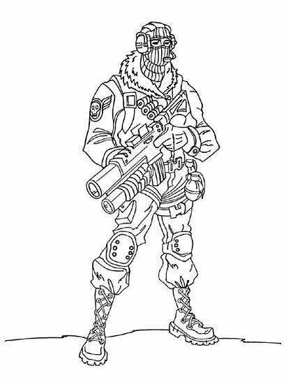 Fortnite Coloring Pages Boys Printable Raptor Royale