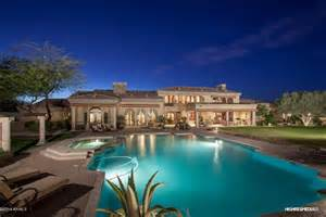 6 Bedroom House With Pool 5 1 million santa barbara style estate in scottsdale az